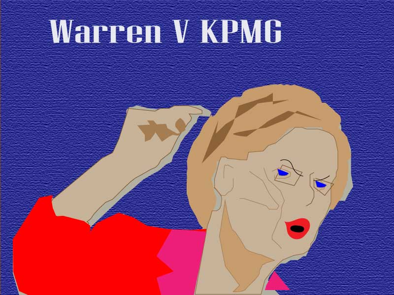 Elizabeth Warren KPMG