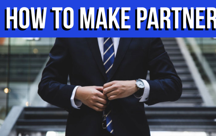 How to Make Partner At The Big 4
