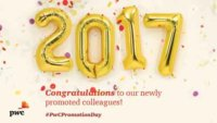 PwC Promotion Day 2017 Congrats