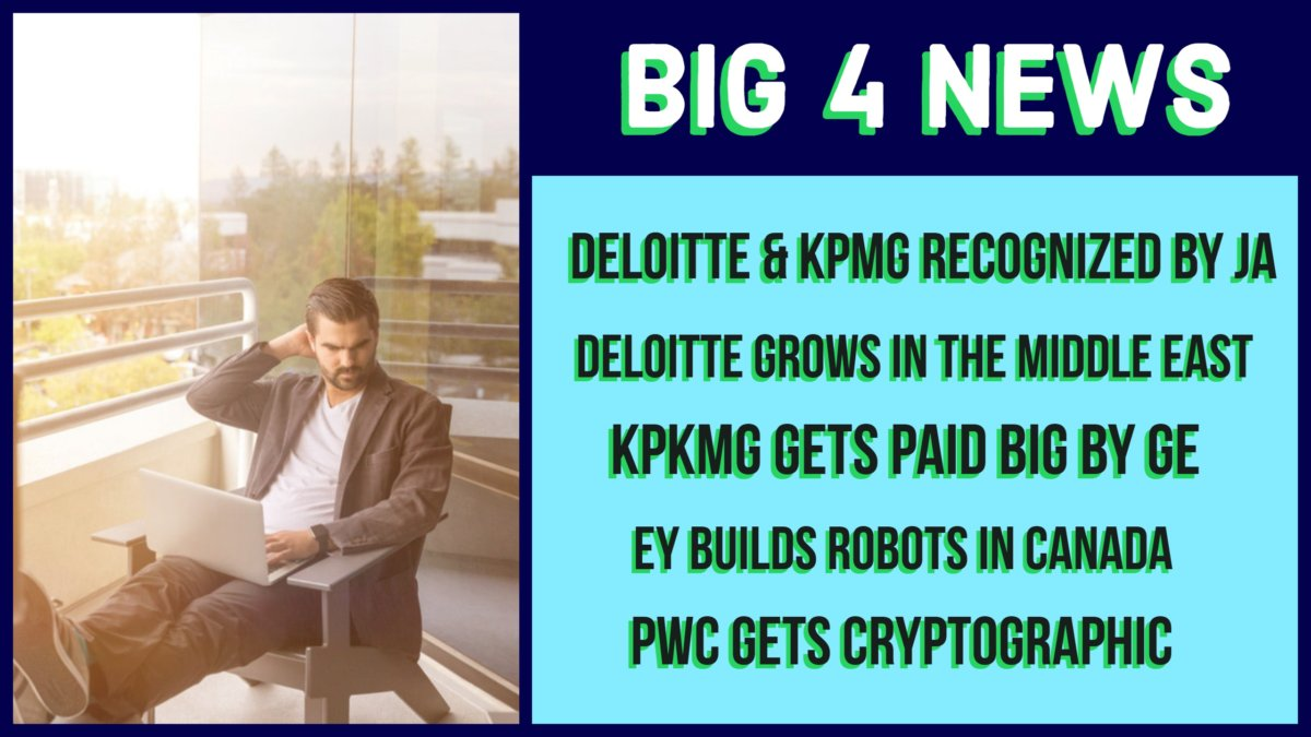 EY builds robots and KPMG gets paid by GE