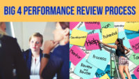 big 4 performance review process