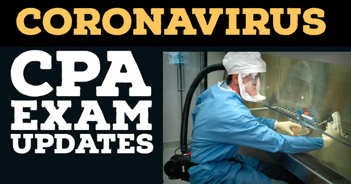 coronavirus cpa exam updates