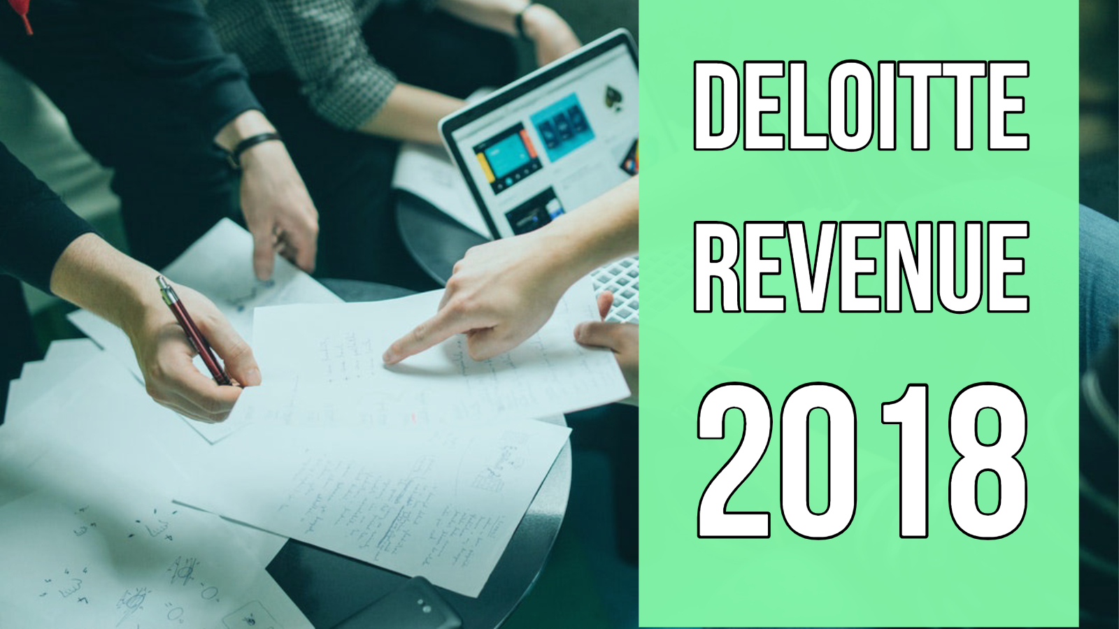 deloitte revenue 2018