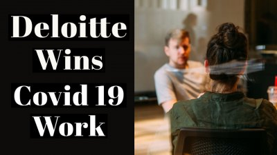 deloitte wins covid 19 work