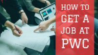 how to get a job at pwc