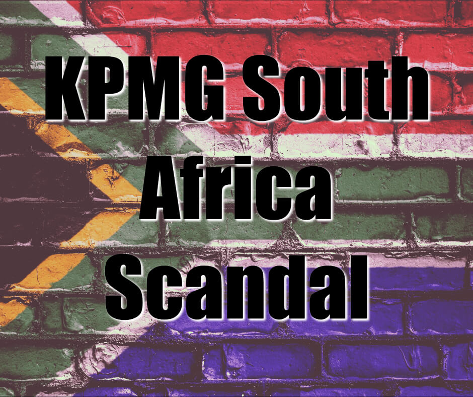 kpmg south Africa scandal