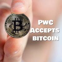 pwc accepts bitcoin