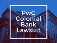 pwc colonial bank lawsuit 2018