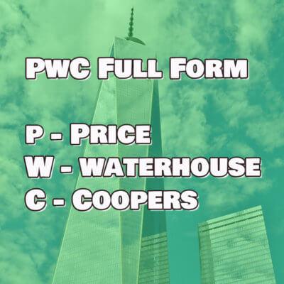 pwc full form