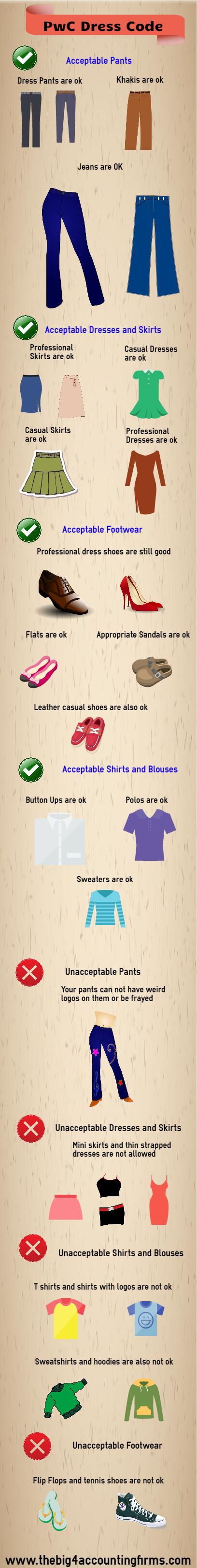 PwC Dress Code