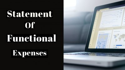statement of functional expenses